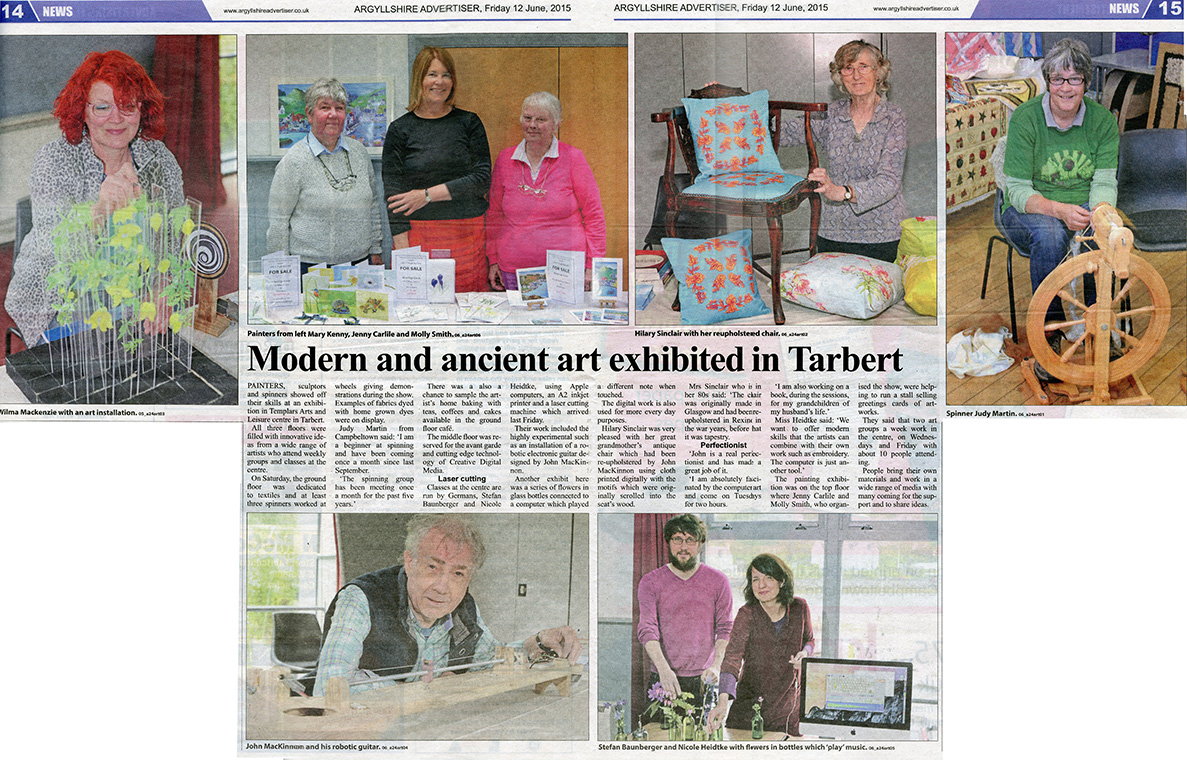 article about Arts and Crafts Fair